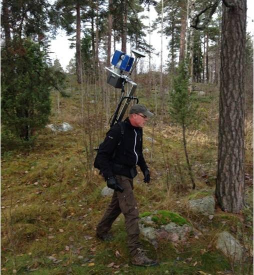 Forest laser scanning