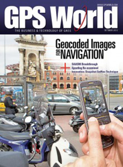 Laser Scanning - GPS World cover